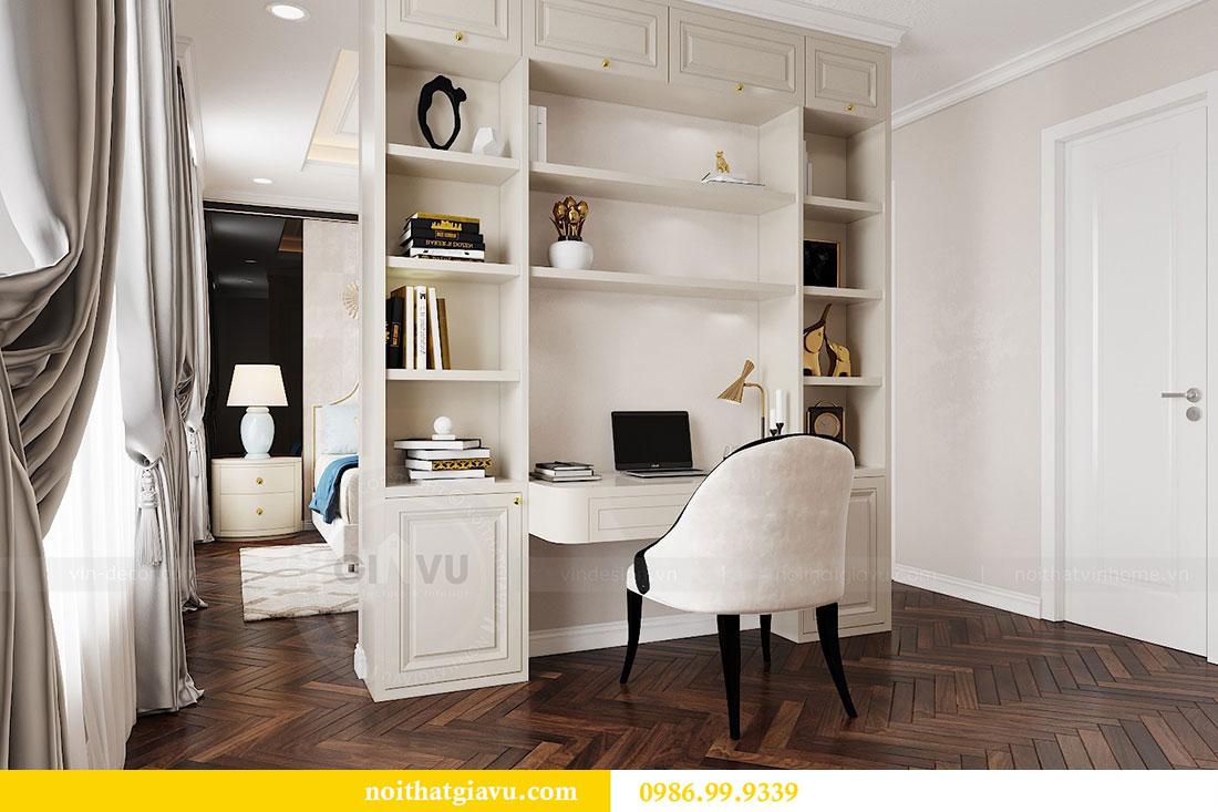 Thiết kế nội thất chung cư Vinhomes D capitale tòa C6 - Chị Nhi 12