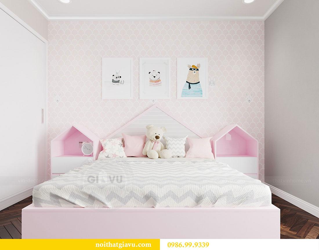Thiết kế nội thất chung cư Vinhomes D capitale tòa C6 - Chị Nhi 14