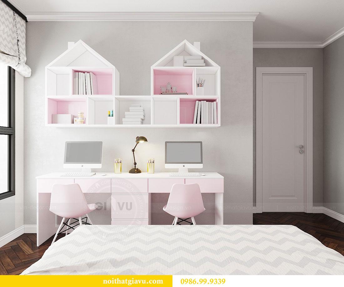 Thiết kế nội thất chung cư Vinhomes D capitale tòa C6 - Chị Nhi 15