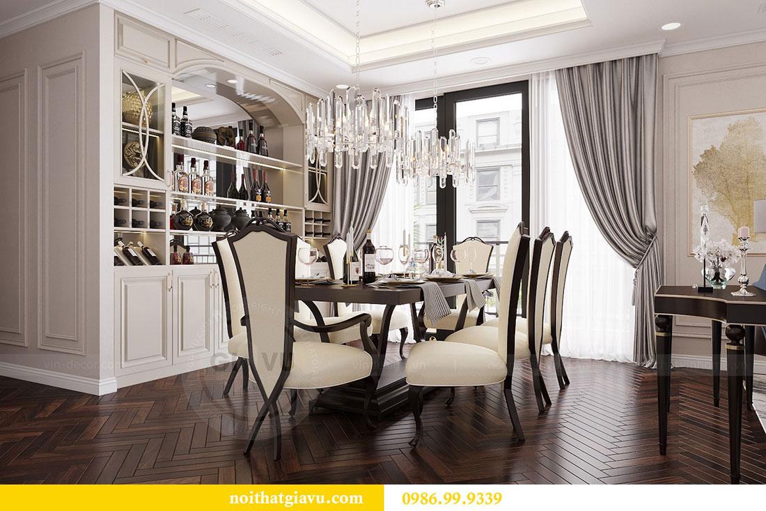 Thiết kế nội thất chung cư Vinhomes D capitale tòa C6 - Chị Nhi 3