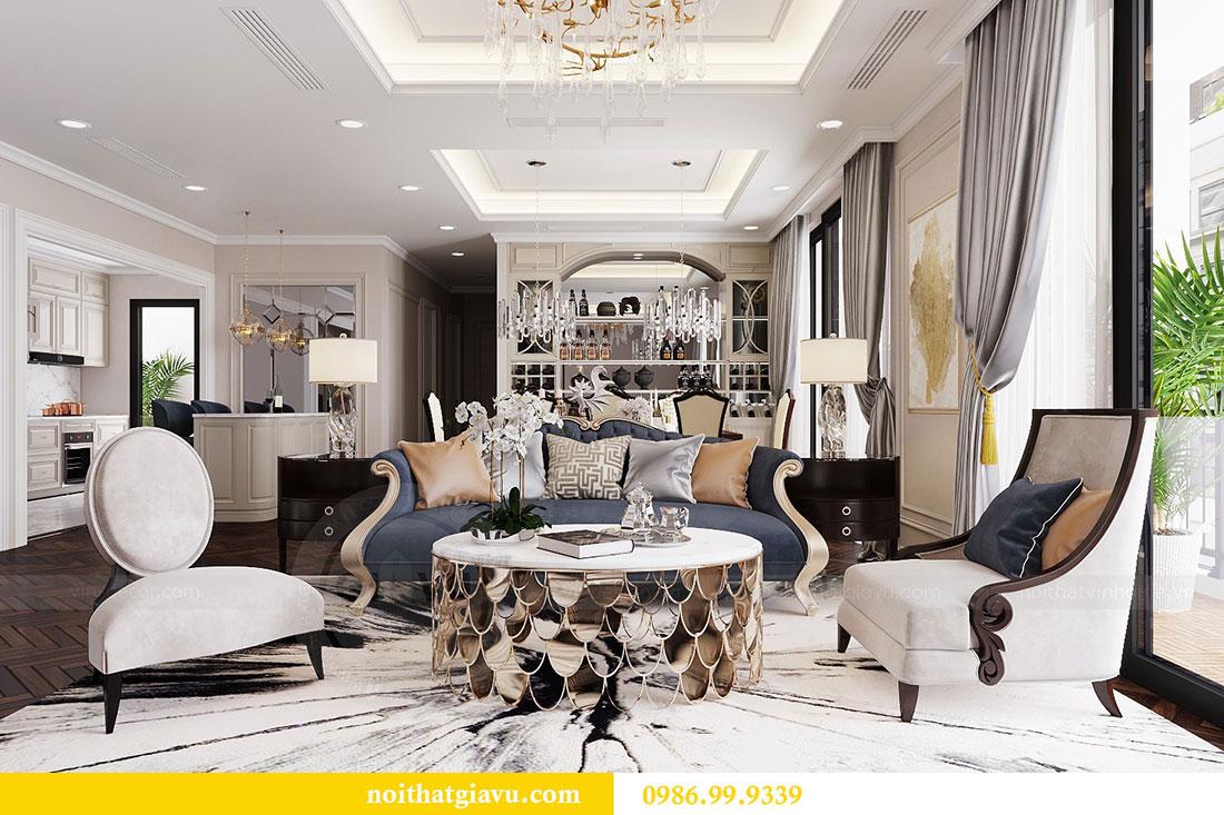 Thiết kế nội thất chung cư Vinhomes D capitale tòa C6 - Chị Nhi 4