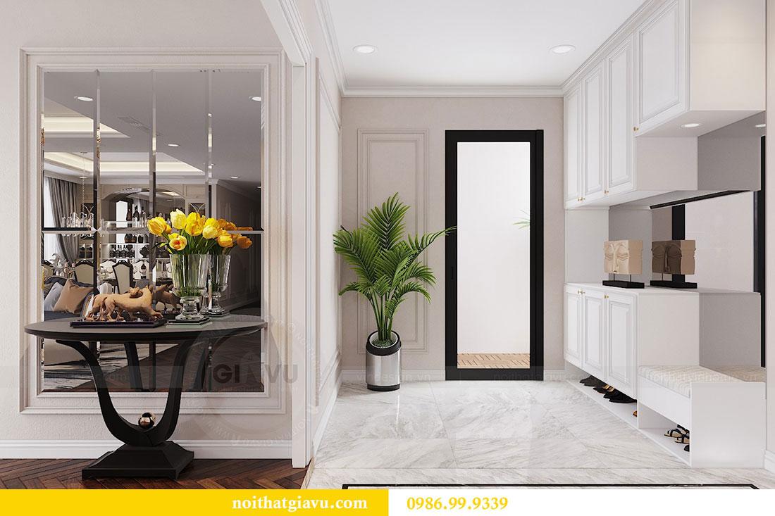 Thiết kế nội thất chung cư Vinhomes D capitale tòa C6 - Chị Nhi 5