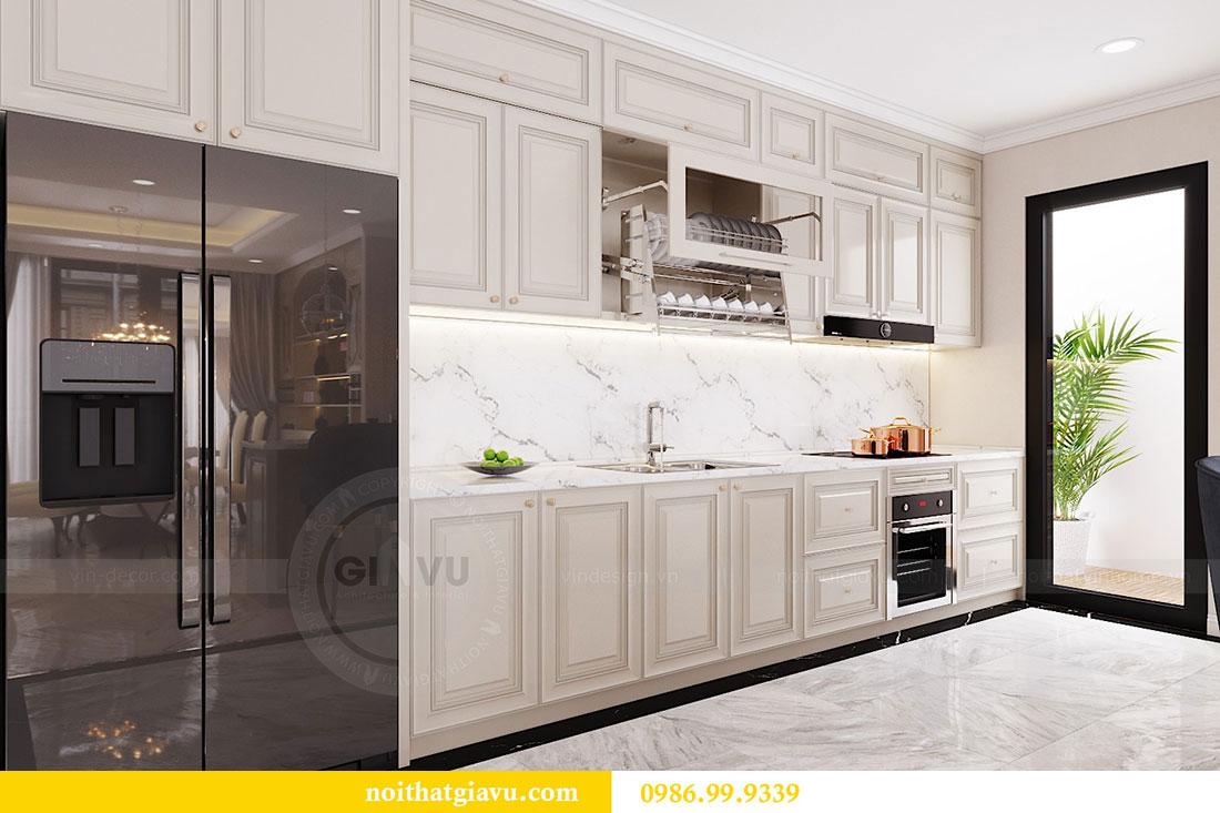 Thiết kế nội thất chung cư Vinhomes D capitale tòa C6 - Chị Nhi 6