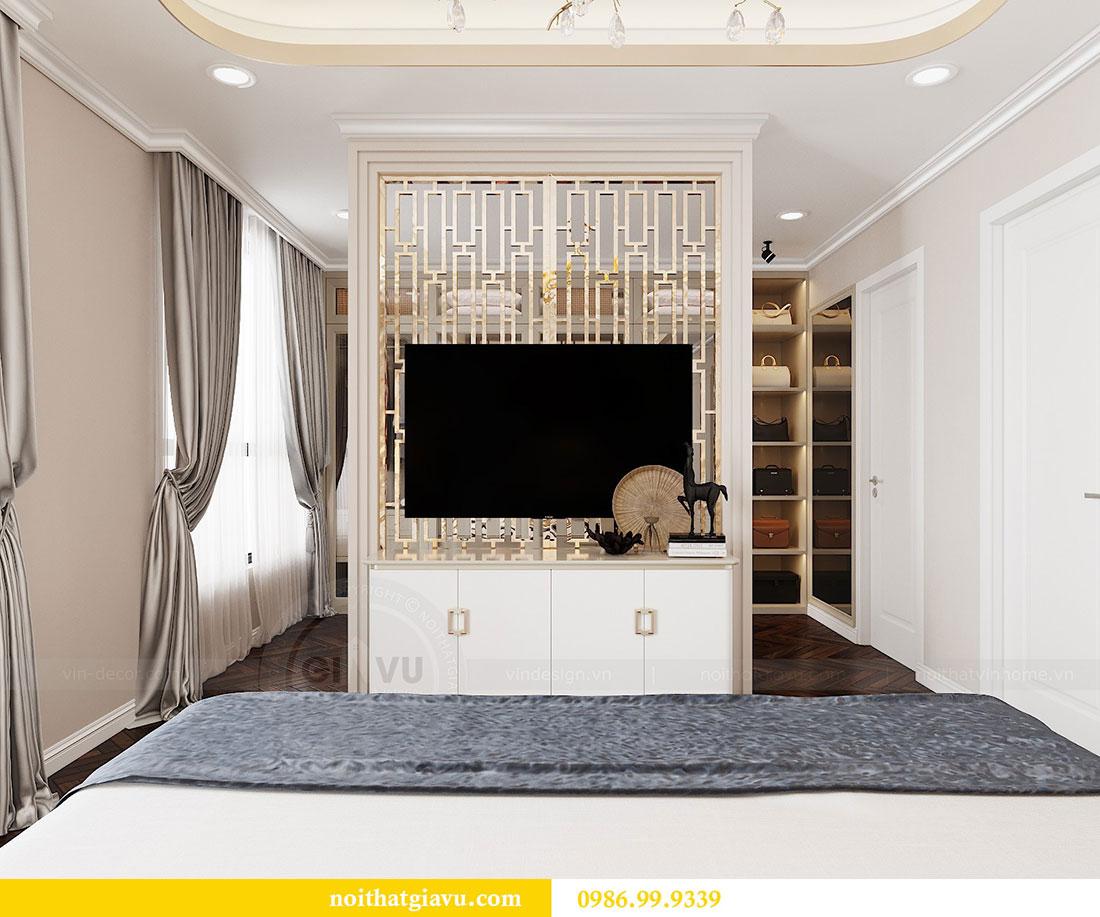 Thiết kế nội thất chung cư Vinhomes D capitale tòa C6 - Chị Nhi 8