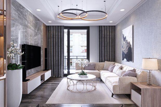 Thiết kế nội thất chung cư Vinhomes Metropolis – Lh 0986999339
