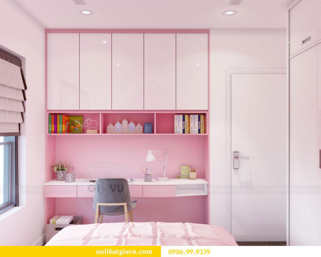 Thiết kế nội thất Vinhomes D Capitale căn 08 tòa C1 - Anh Thắng 15