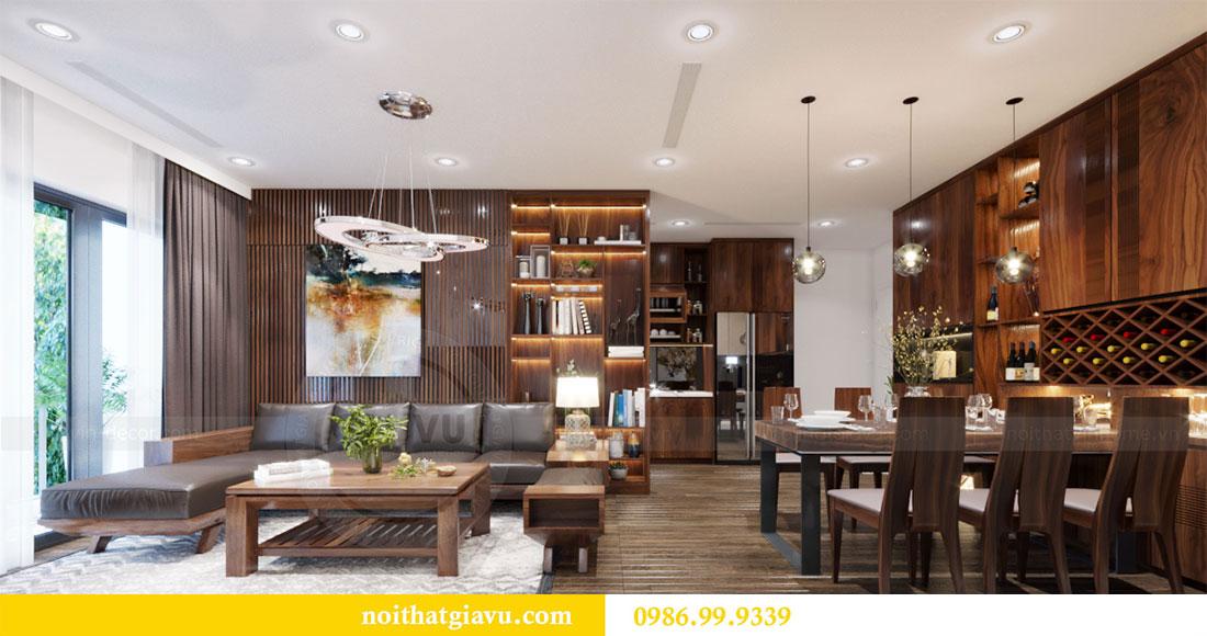 Thiết kế nội thất Vinhomes D Capitale căn 08 tòa C1 - Anh Thắng 3
