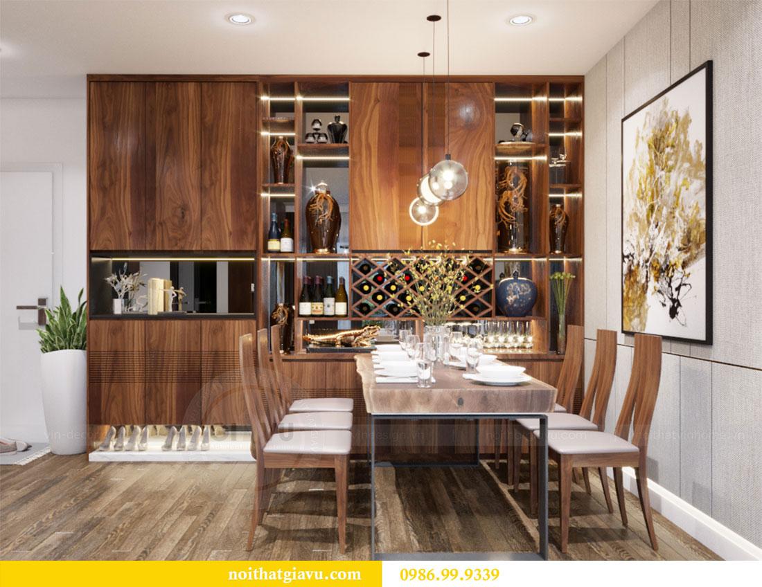 Thiết kế nội thất Vinhomes D Capitale căn 08 tòa C1 - Anh Thắng 4