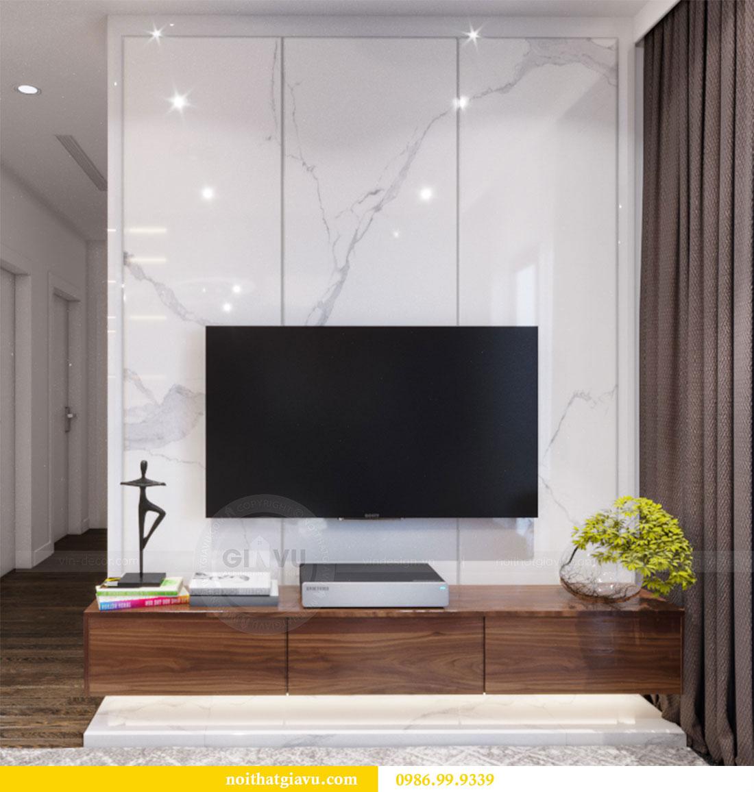 Thiết kế nội thất Vinhomes D Capitale căn 08 tòa C1 - Anh Thắng 5