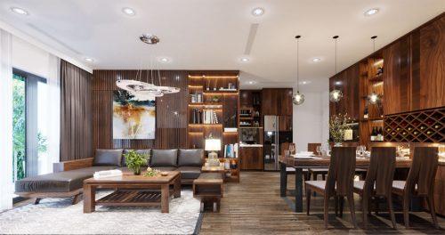 Thiết kế nội thất Vinhomes D Capitale căn 08 tòa C1 – Anh Thắng
