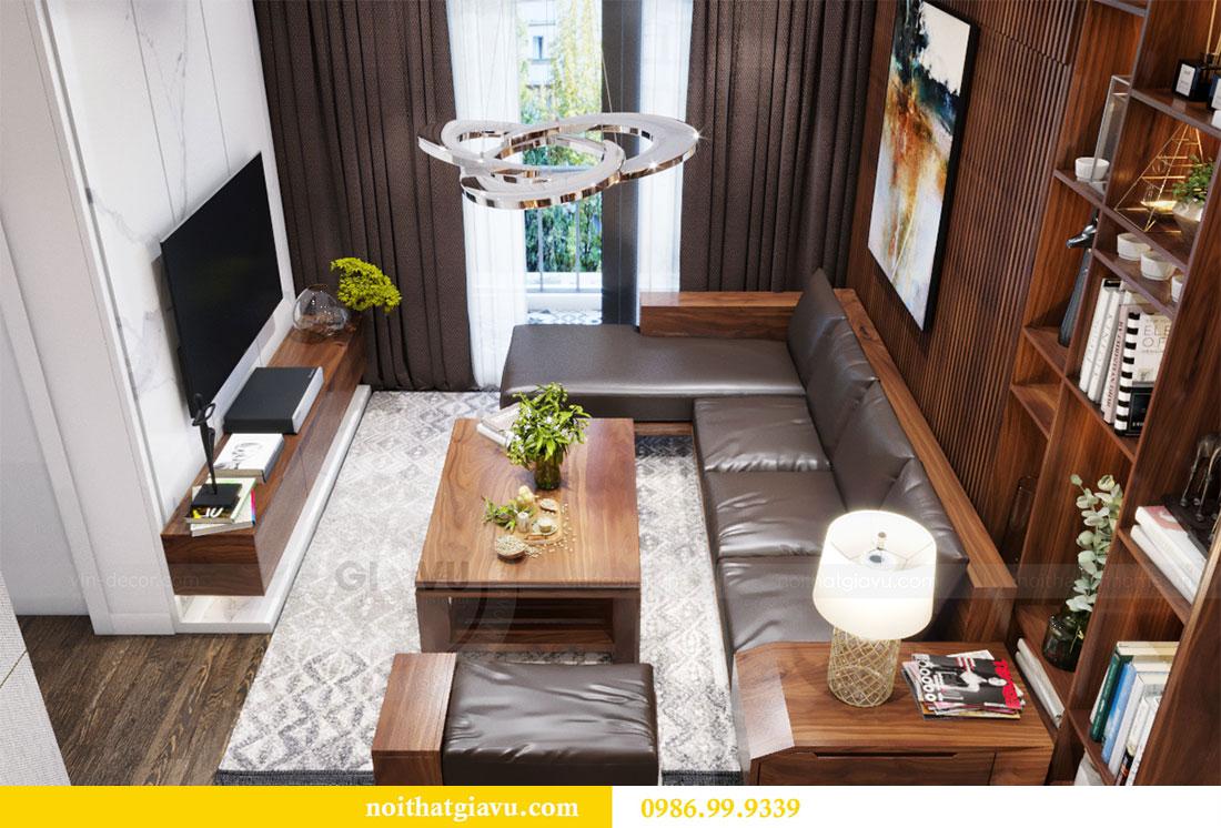 Thiết kế nội thất Vinhomes D Capitale căn 08 tòa C1 - Anh Thắng 6