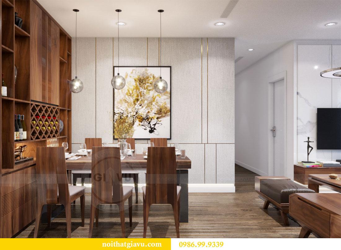 Thiết kế nội thất Vinhomes D Capitale căn 08 tòa C1 - Anh Thắng 7