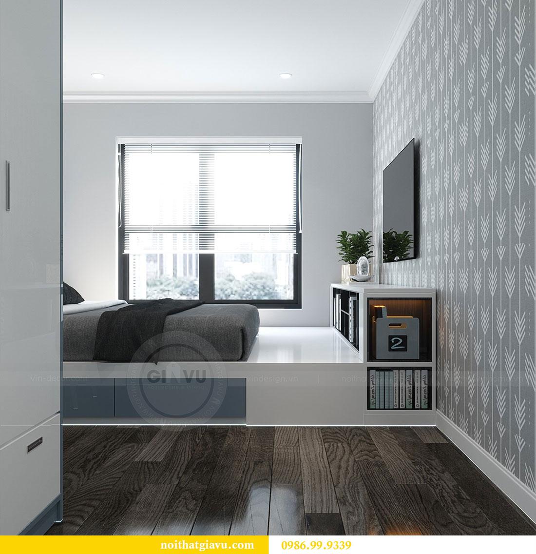 Thiết kế nội thất Vinhomes D Capitale tòa C1 căn 07 - Anh Chung 10