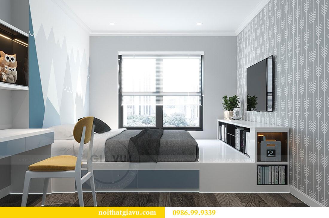 Thiết kế nội thất Vinhomes D Capitale tòa C1 căn 07 - Anh Chung 11
