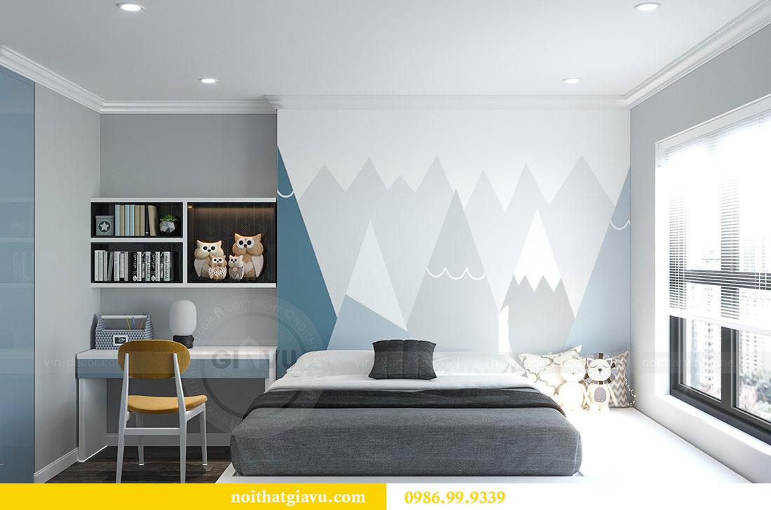 Thiết kế nội thất Vinhomes D Capitale tòa C1 căn 07 - Anh Chung 12