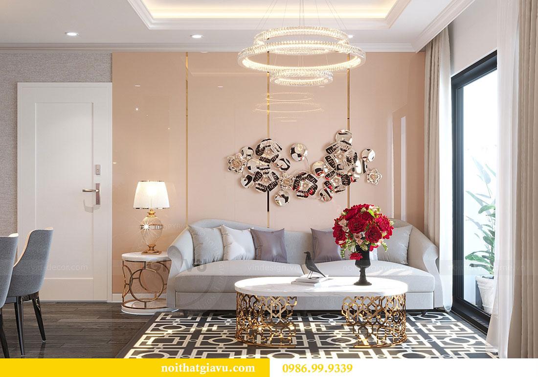Thiết kế nội thất Vinhomes D Capitale tòa C1 căn 07 - Anh Chung 2