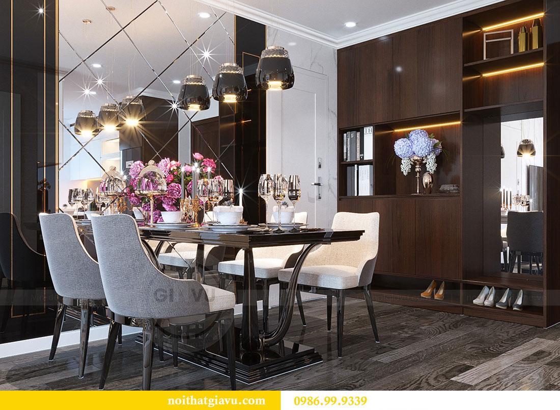 Thiết kế nội thất Vinhomes D Capitale tòa C1 căn 07 - Anh Chung 5