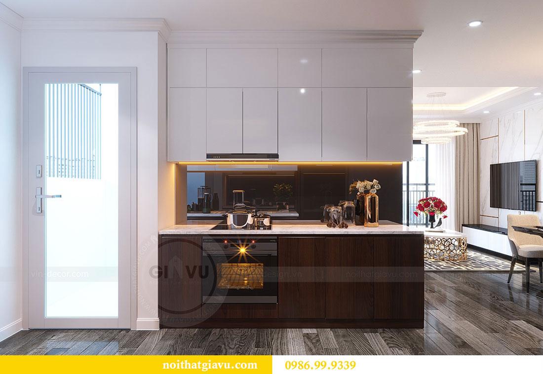 Thiết kế nội thất Vinhomes D Capitale tòa C1 căn 07 - Anh Chung 6