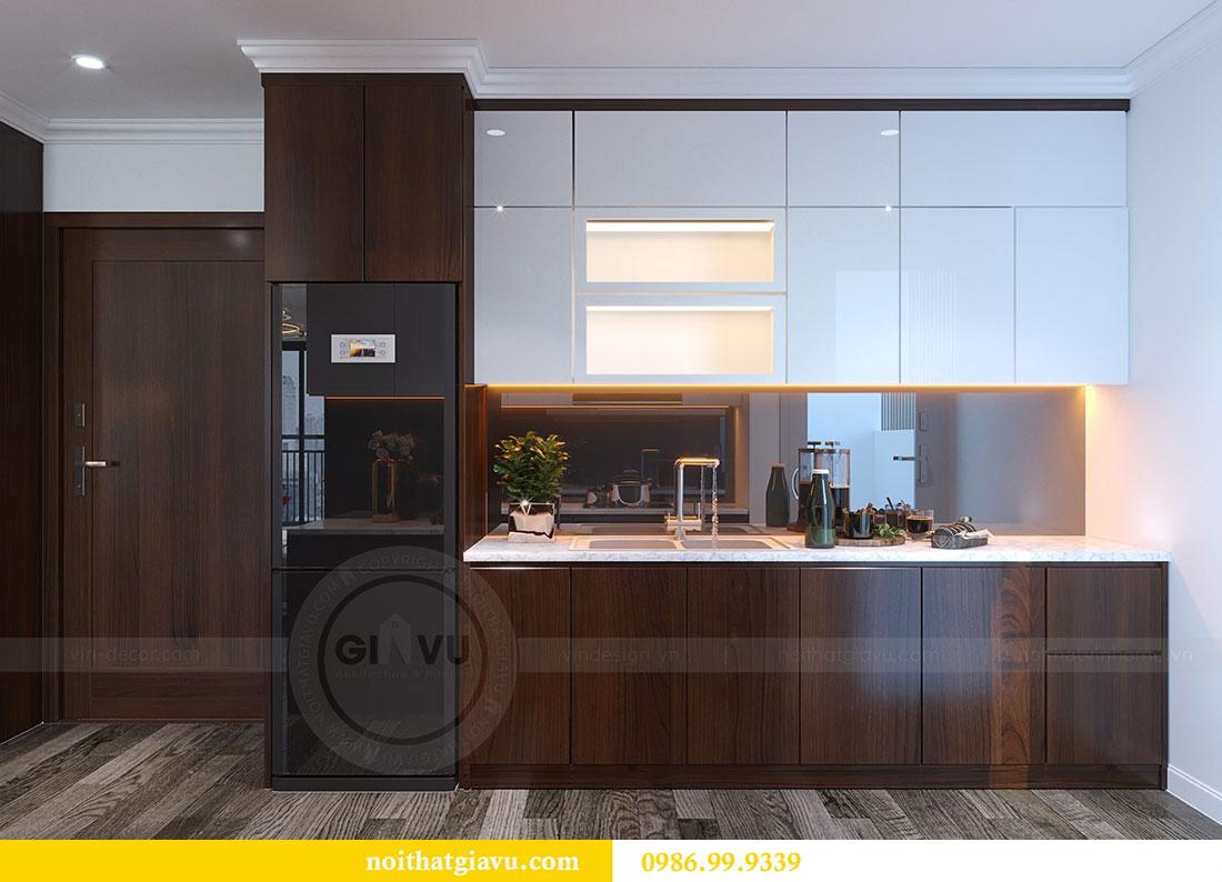 Thiết kế nội thất Vinhomes D Capitale tòa C1 căn 07 - Anh Chung 7