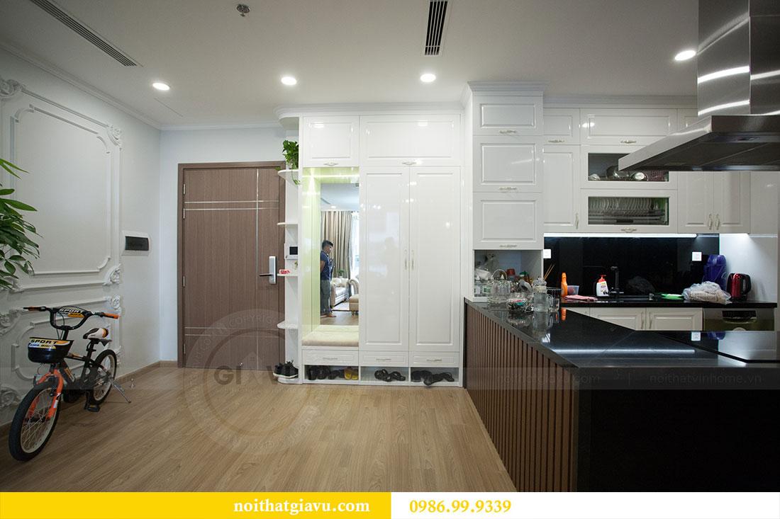 Hoàn thiện nội thất chung cư Vinhomes Gardenia tòa A2 nhà anh Tuấn 1