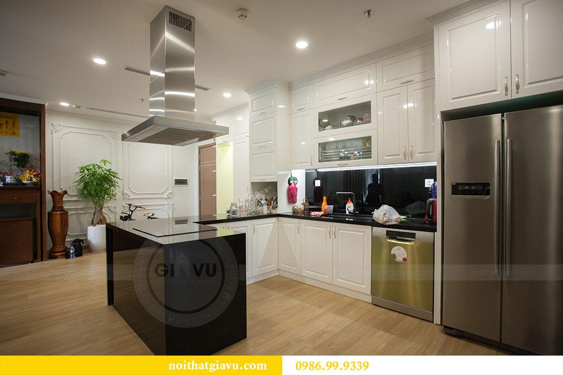 Hoàn thiện nội thất chung cư Vinhomes Gardenia tòa A2 nhà anh Tuấn 2