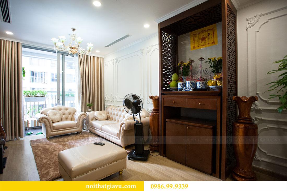 Hoàn thiện nội thất chung cư Vinhomes Gardenia tòa A2 nhà anh Tuấn 5