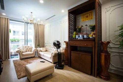 Hoàn thiện nội thất chung cư Vinhomes Gardenia tòa A2 nhà anh Tuấn