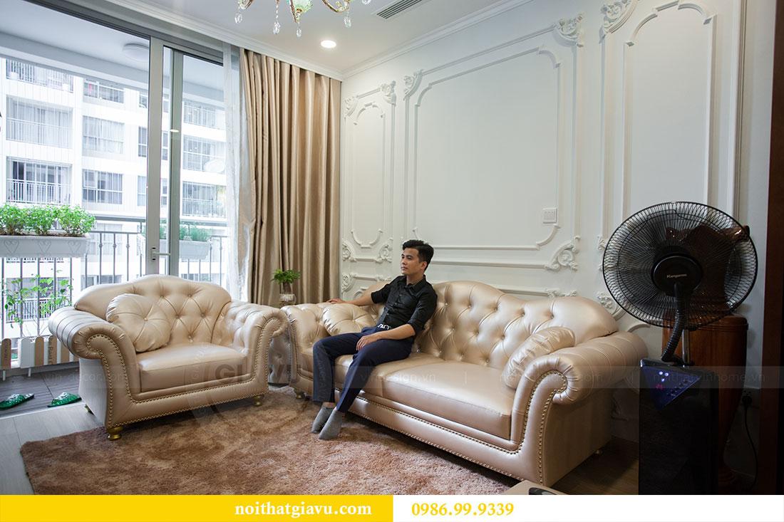 Hoàn thiện nội thất chung cư Vinhomes Gardenia tòa A2 nhà anh Tuấn 6