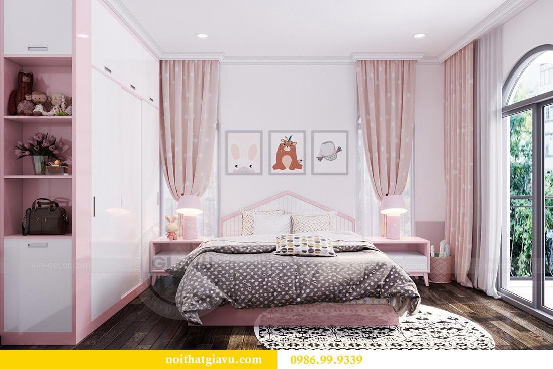 Thiết kế nội thất biệt thự Imperia Hải Phòng phân khu The Venice 25