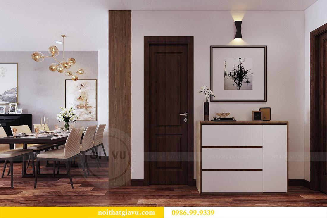 Thiết kế nội thất chung cư Ngoại Giao Đoàn tòa N01-T5 căn 05 chị Hoa 1
