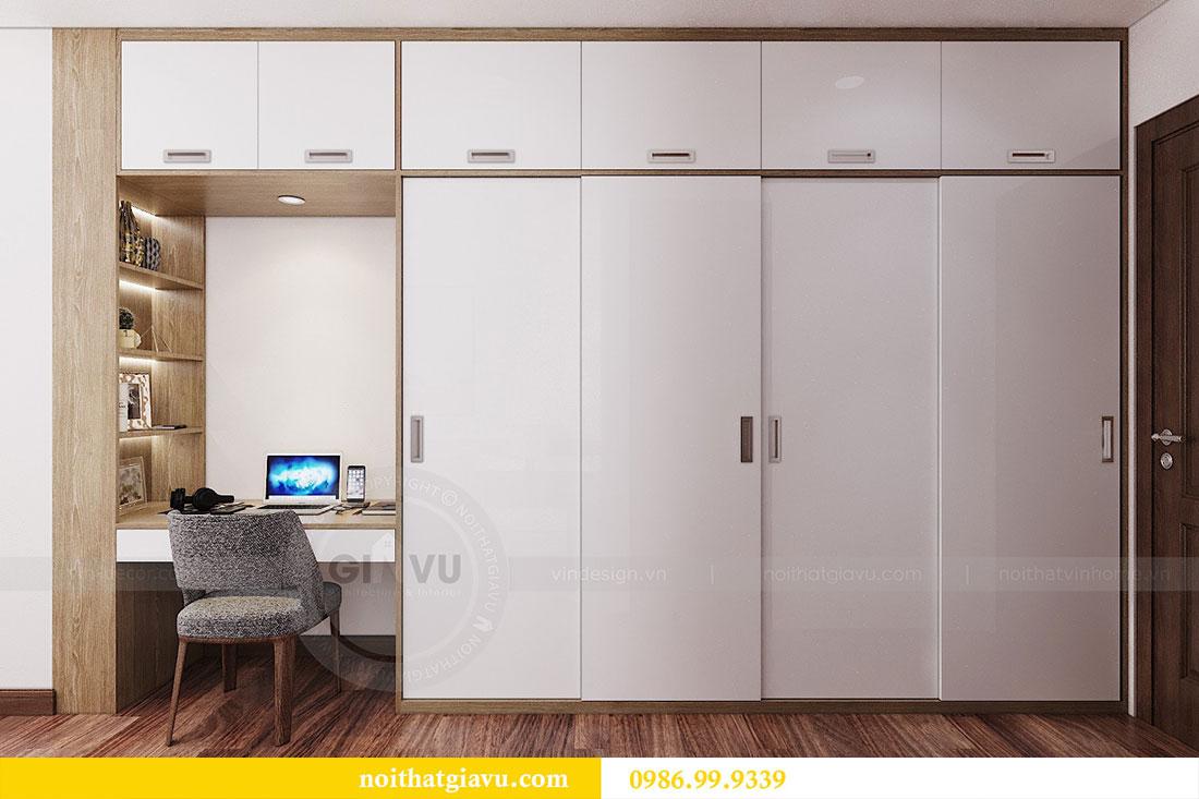 Thiết kế nội thất chung cư Ngoại Giao Đoàn tòa N01-T5 căn 05 chị Hoa 10