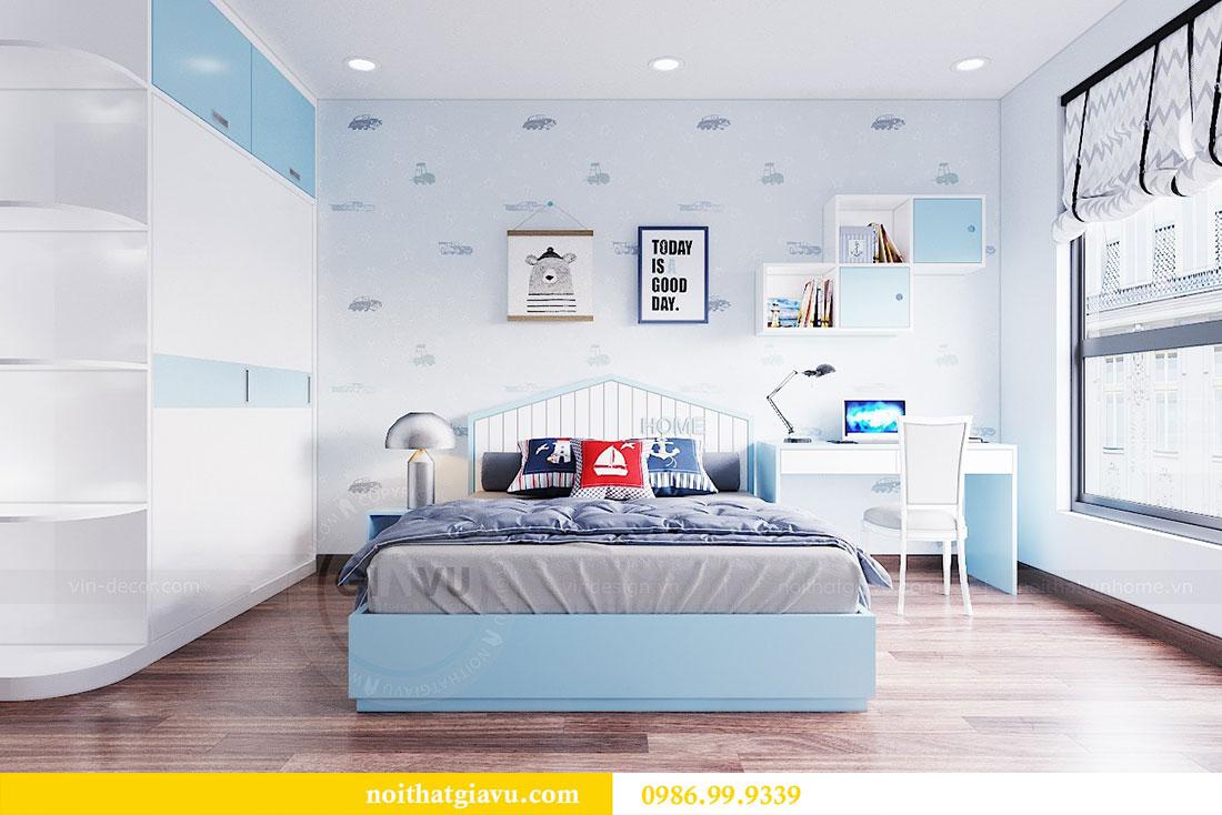 Thiết kế nội thất chung cư Ngoại Giao Đoàn tòa N01-T5 căn 05 chị Hoa 11