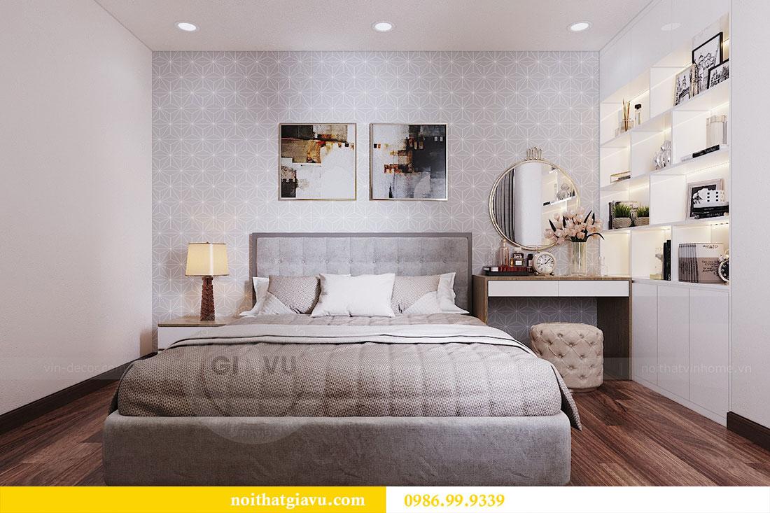 Thiết kế nội thất chung cư Ngoại Giao Đoàn tòa N01-T5 căn 05 chị Hoa 8
