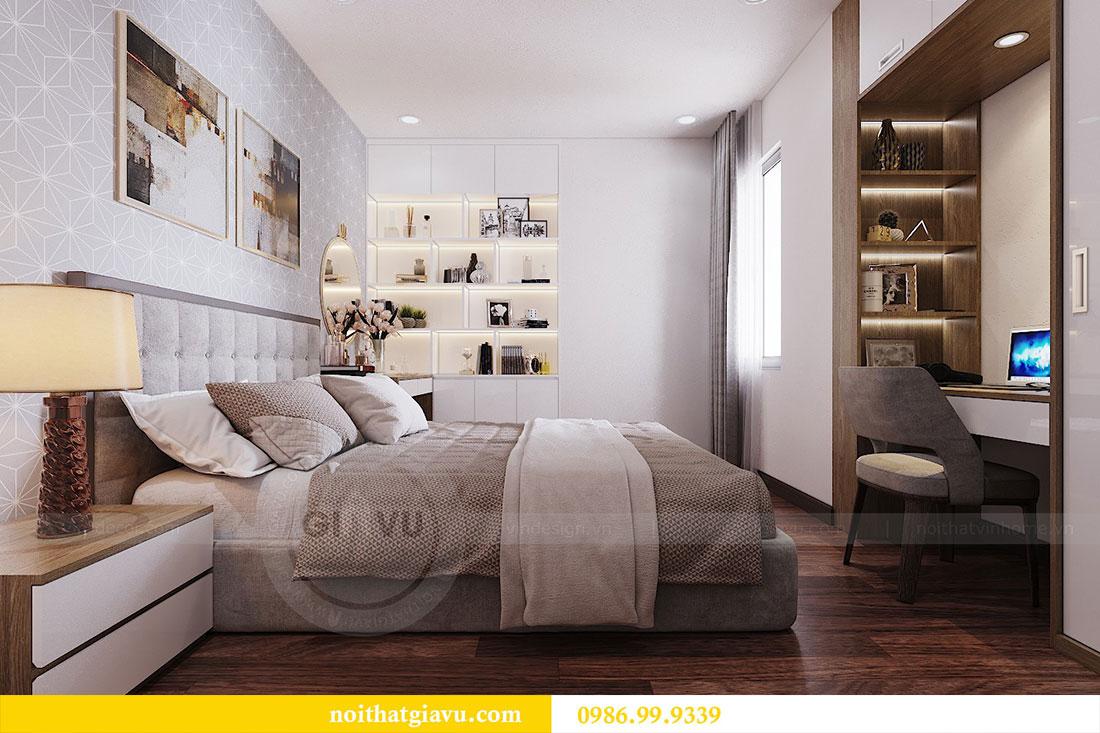 Thiết kế nội thất chung cư Ngoại Giao Đoàn tòa N01-T5 căn 05 chị Hoa 9
