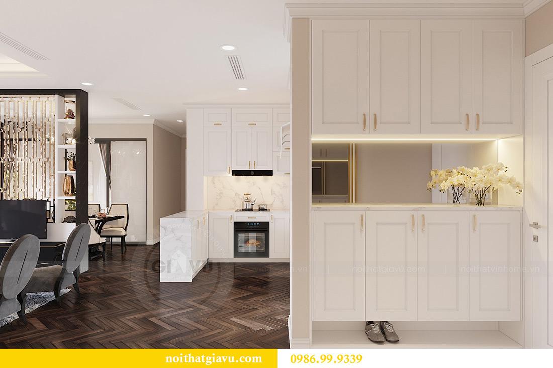 Thiết kế nội thất căn hộ 06 chung cư Dcapitale nhà chị Linh 2.