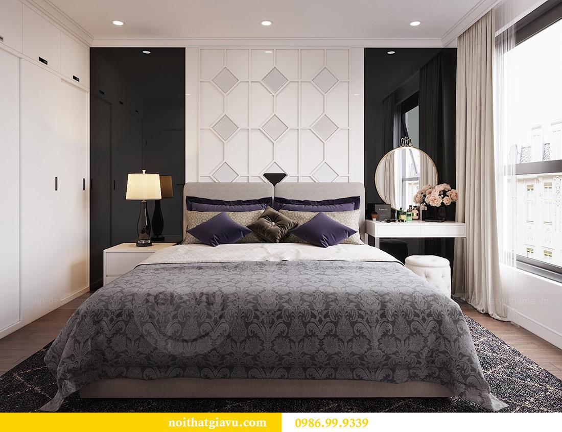 Thiết kế căn hộ 07 tòa C3 Vinhomes Dcapitale căn 2 ngủ chị Hải 6