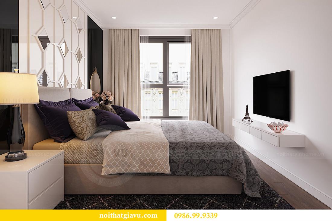 Thiết kế căn hộ 07 tòa C3 Vinhomes Dcapitale căn 2 ngủ chị Hải 7