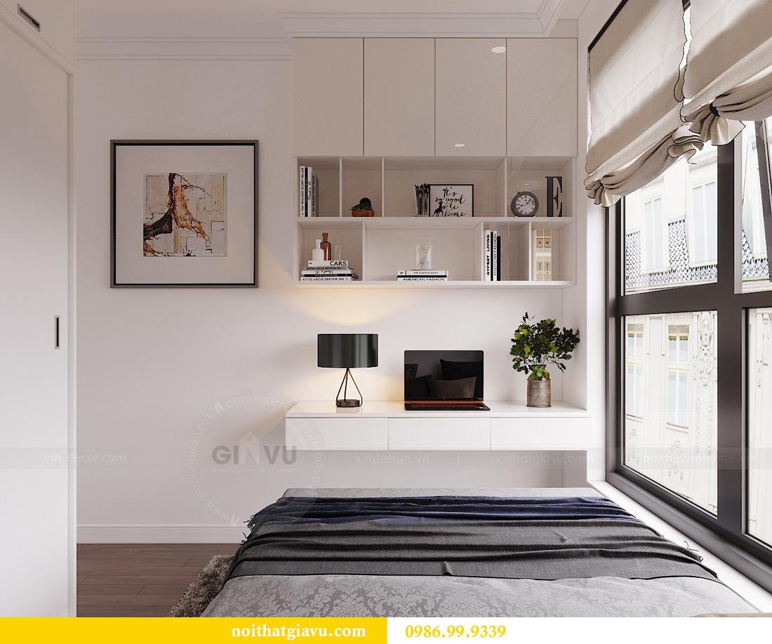 Thiết kế căn hộ 07 tòa C3 Vinhomes Dcapitale căn 2 ngủ chị Hải 9