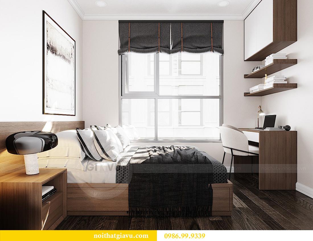 Thiết kế căn hộ chung cư 70m2 hiện đại, tiện nghi nhà chị Nga 10