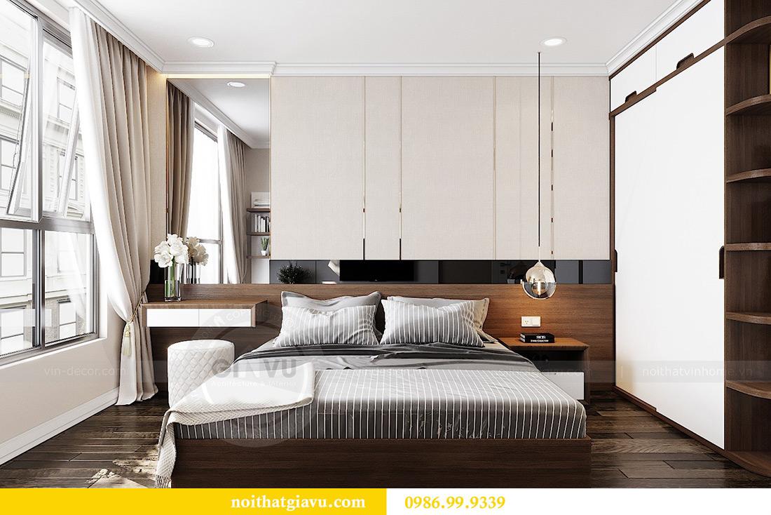 Thiết kế căn hộ chung cư 70m2 hiện đại, tiện nghi nhà chị Nga 7