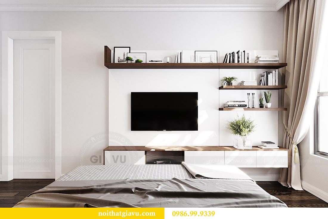 Thiết kế căn hộ chung cư 70m2 hiện đại, tiện nghi nhà chị Nga 8