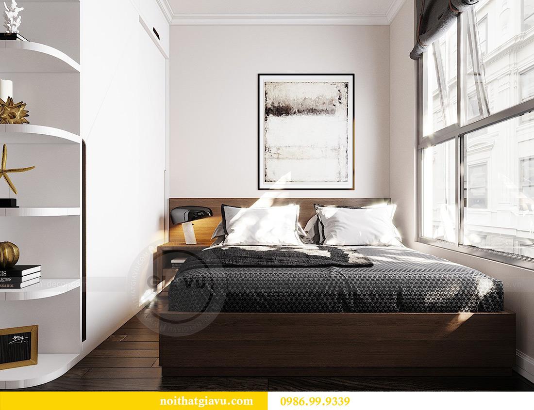 Thiết kế căn hộ chung cư 70m2 hiện đại, tiện nghi nhà chị Nga 9