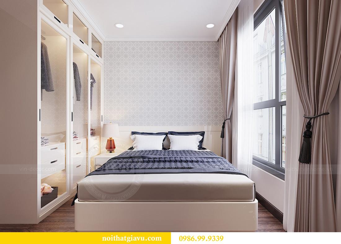 Thiết kế căn hộ chung cư Vinhomes Trần Duy Hưng tòa C1 căn 11 view 11