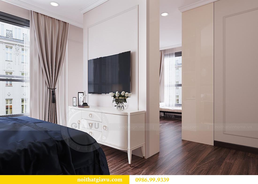 Thiết kế căn hộ chung cư Vinhomes Trần Duy Hưng tòa C1 căn 11 view 8