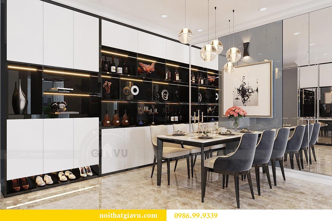 Thiết kế căn hộ Vinhomes Dcapitale căn 3 ngủ tòa C1 08 anh Thông 2