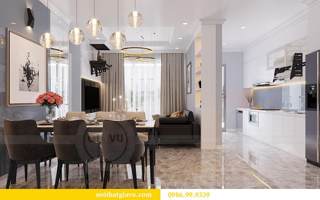 Thiết kế căn hộ Vinhomes Dcapitale căn 3 ngủ tòa C1 08 anh Thông 3