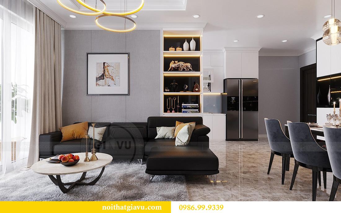 Thiết kế căn hộ Vinhomes Dcapitale căn 3 ngủ tòa C1 08 anh Thông 4