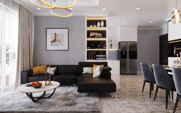Thiết kế căn hộ Vinhomes Dcapitale căn 3 ngủ tòa C1 08 anh Thông
