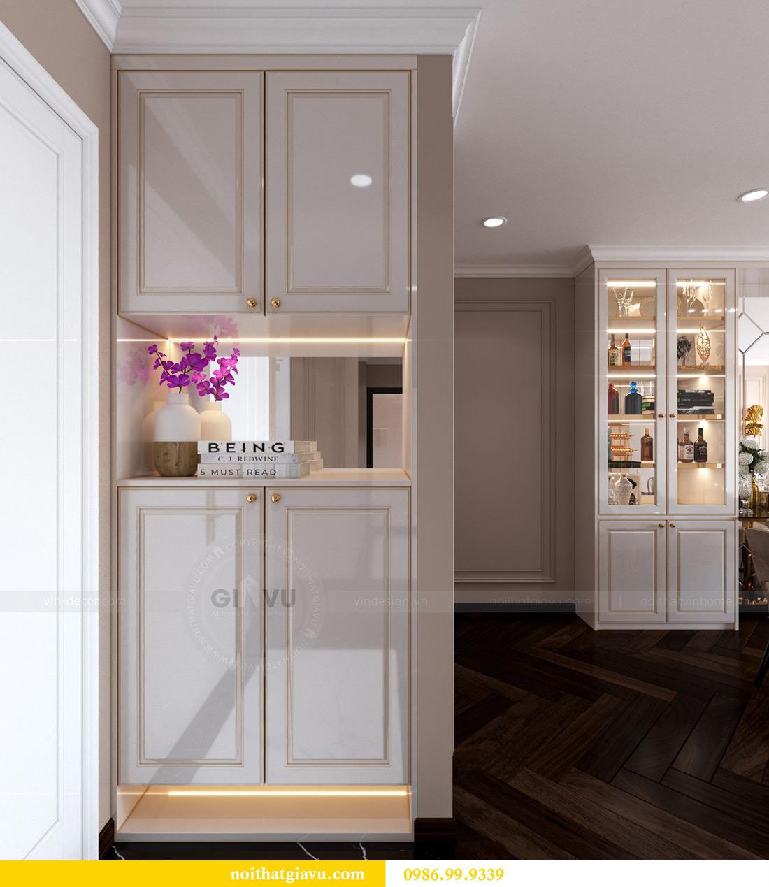 Thiết kế nội thất căn hộ chung cư Lương Yên tòa T2 căn 10 - Anh Nam 1