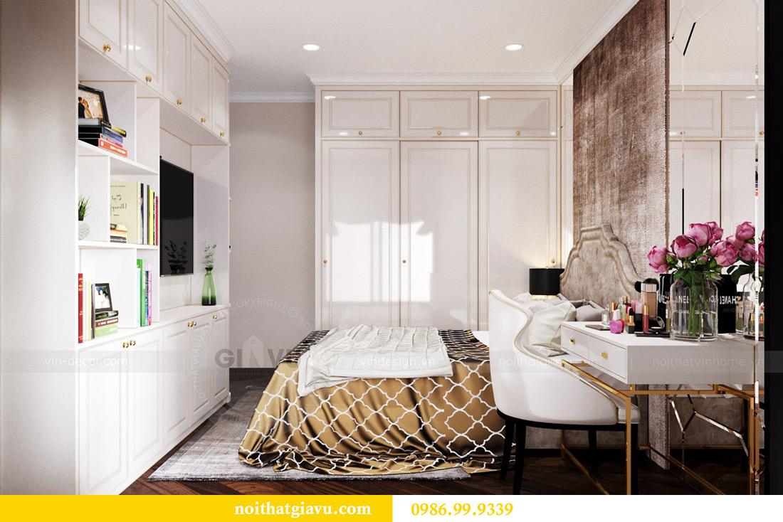 Thiết kế nội thất căn hộ chung cư Lương Yên tòa T2 căn 10 - Anh Nam 11